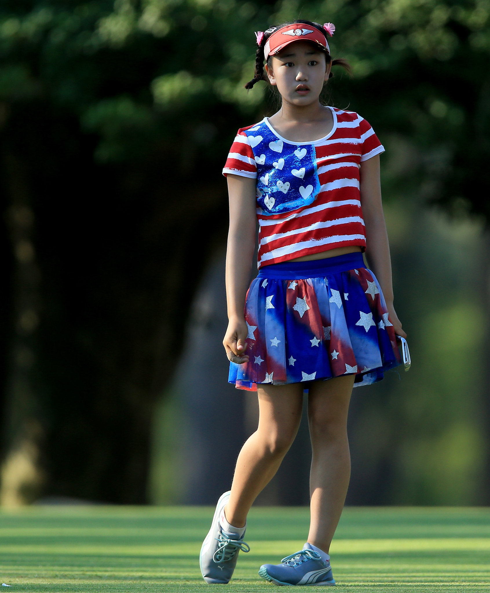 Lucy Li, 11, Tops A 78 With Ice Cream At The U.S. Women's